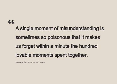Misunderstanding Quotes Fair 40 Best Being Misunderstood Images On Pinterest  Thoughts The