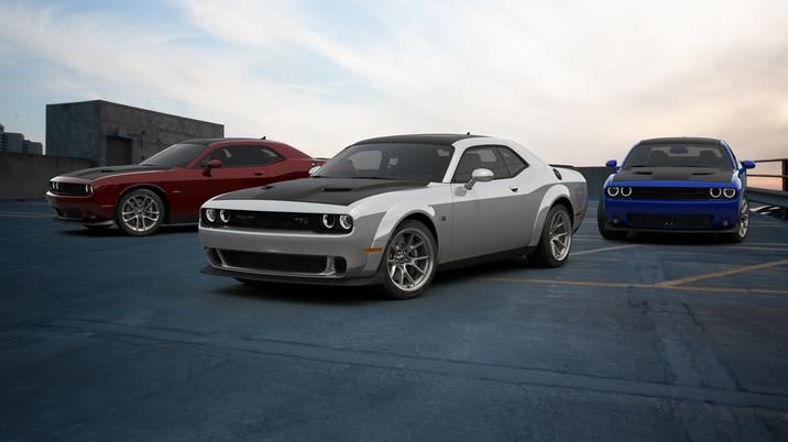 The 2020 Dodge Challenger 50th Anniversary Commemorative Edition Celebrates Half A Century O In 2020 Dodge Challenger Dodge Challenger Srt Hellcat New Dodge Challenger