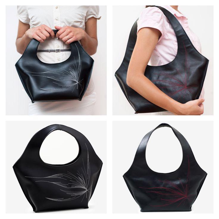 """""""Venice"""" leather bag."""