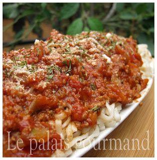 Le palais gourmand: Spaghetti Italien