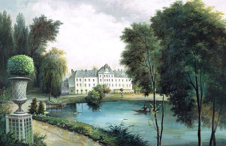 1000 images about papier peint panoramique on pinterest - La maison du papier peint ...
