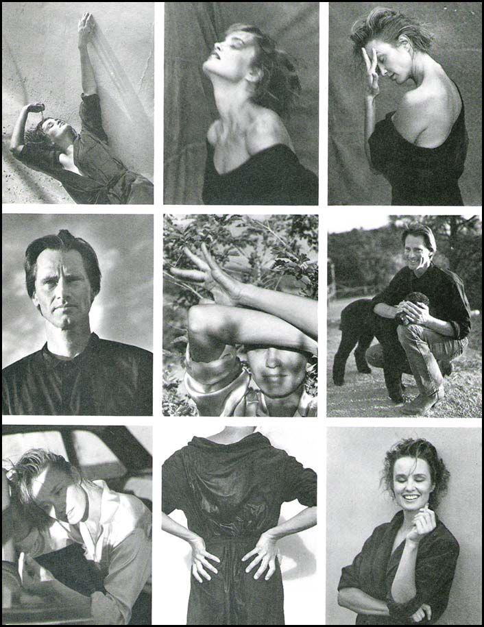 Jessica Lange and Sam Shepard by Bruce Weber, Vanity Fair October 1983