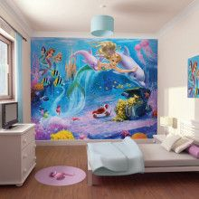 Walltastic Mermaids Wallpaper Mural - 41813
