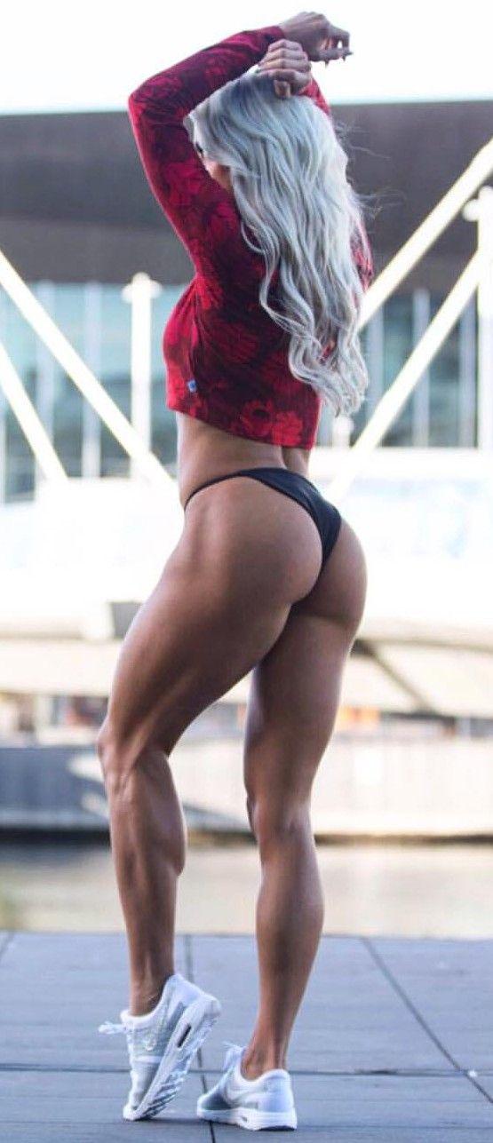 Fitnessmodel Lady Hammer