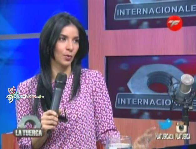 """Johanna Duvergé: """"Michel El Buenon Ignoró Por Completo La Prensa En Premio Soberano"""" @JohannaDuverge #Video"""