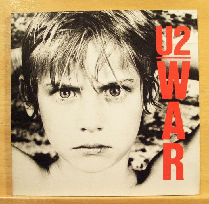 U 2  (U2) - War - Vinyl LP - Sunday bloody Sunday - New Year´s Day - The Refugee