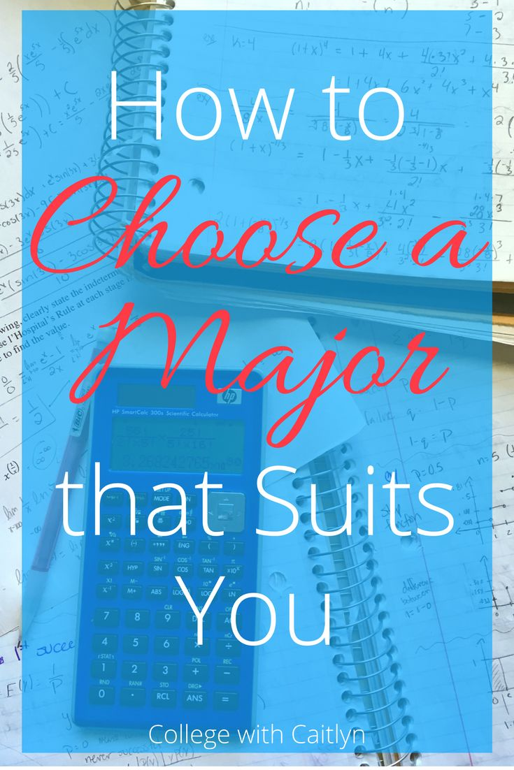 How to Choose a College Major that Suits You