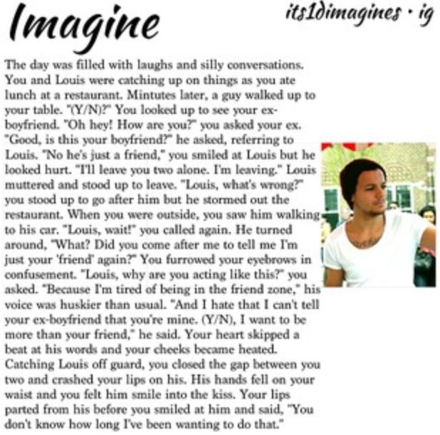 17 Best Images About One Direction Imagine On Pinterest