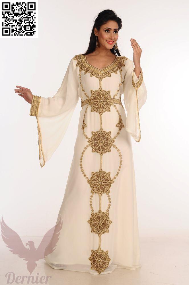 Kaftan Abaya Royal Jalabiya Ladies Maxi Dress New Design. 1 PC SET OF FULL SLEEVE  KAFTAN 1 FREE BELT. Color  - As per variation( Green e3ae6c99421f