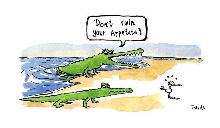 Crocodile mum