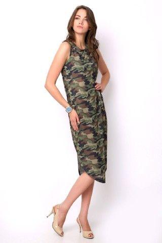 KAMUFLAJ DESENLİ ELBİSE - #Tozlu #elbise modelleri ile kendinizi daha iyi hissedin! Ürünü incelemek ve sipariş vermek için sitemize davetlisiniz. www.tozlu.com.tr