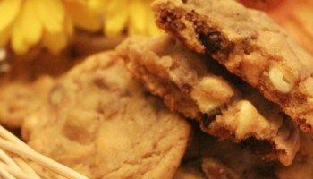 Cookies Macios com Gotas de Chocolate