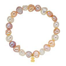pulsera perlas de rio