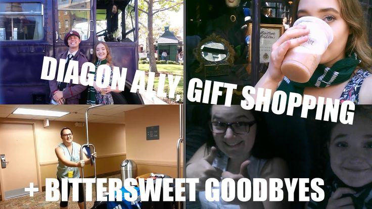 Diagon Ally, Gift Shopping & Bittersweet Goodbyes