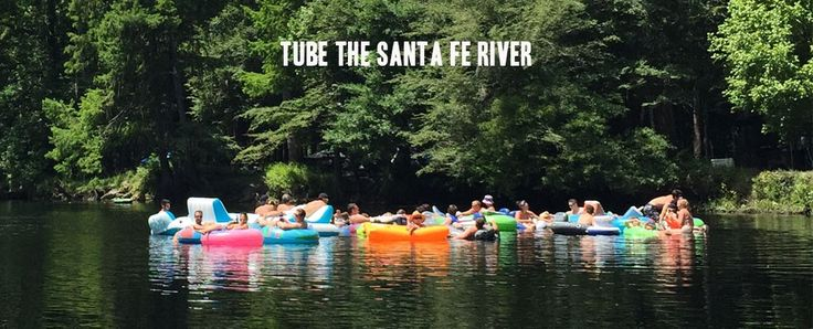 Ginnie Springs Florida campground with River Tubing, Cave Diving, and PADI certification