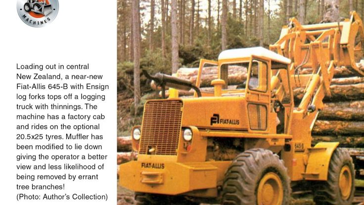 Classic earthmovers: The Allis-Chalmers 645 loader