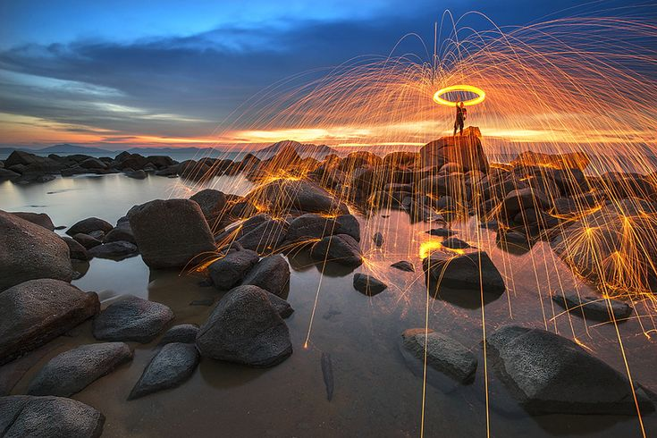 ... Stories » 21 Fiery Photos: The Best Steel Wool Photography on 500px