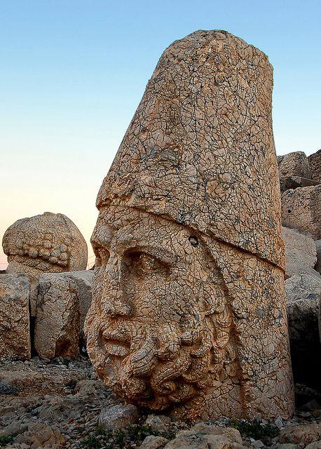 Mount Nemrut, Turkey ancient royal burial site