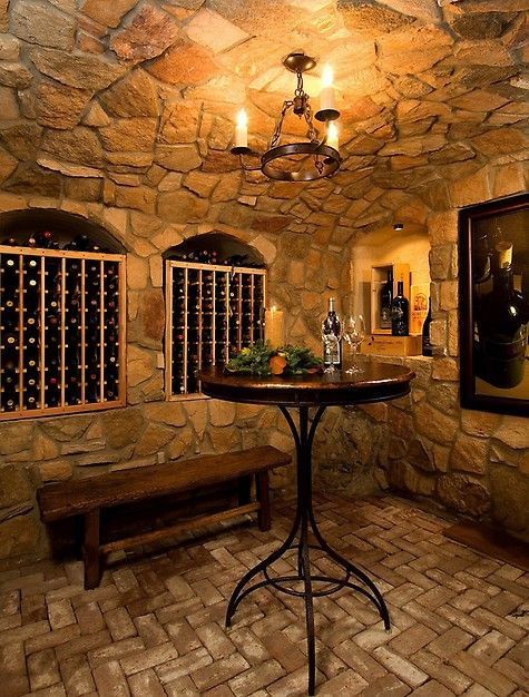 17 best images about wine caves on pinterest caves wine for Cost to build wine cellar