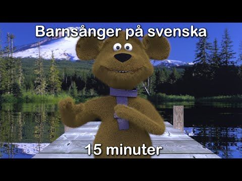 Barnsånger på svenska | 15 minuter | Imse vimse spindel med mera - YouTube