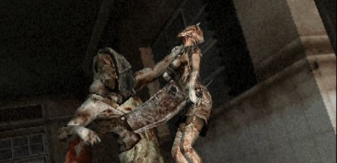 Silent Hill Origins - Butcher - Symbolism: Dissociative Identity Disorder (DID) / Split Personality