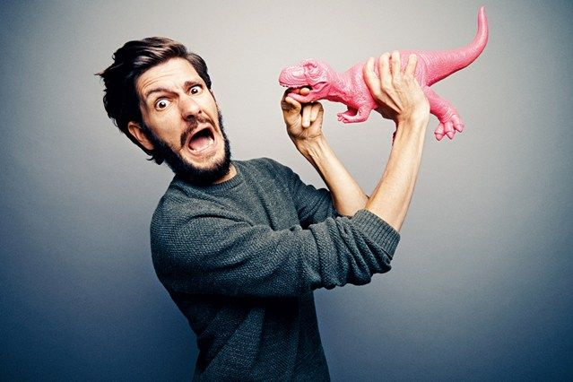 Pink. It's not just for girls says Actor Mathew Baynton