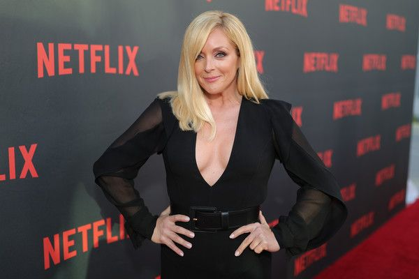 "Actress Jane Krakowski attends Netflix's ""Unbreakable Kimmy Schmidt"" for your consideration event red carpet at Saban Media Center on May 4, 2017 in North Hollywood, California."