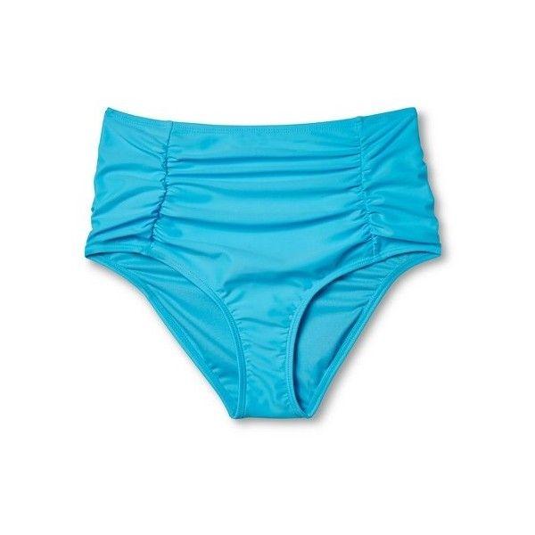 6d6dcc0e45eaa Women's High Waist Bikini Bottom - Xhilaration™ : Target ($18) ❤ liked on  Polyvore featuring swimwear, bikinis, bikini bottoms, hi…   My Polyvore  Finds