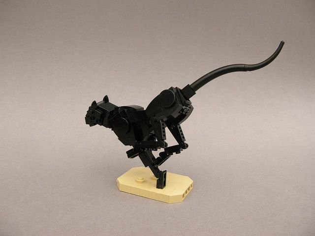 Sprint | Lego Black Panther at full sprint. Another creation… | Flickr