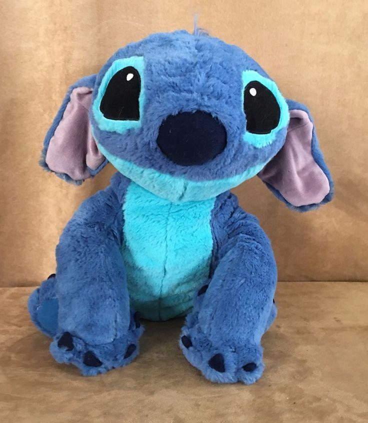 Stitch as Dog Plush jumbo Disney World tag stuffed blue Lilo doll toy theme park #Disney