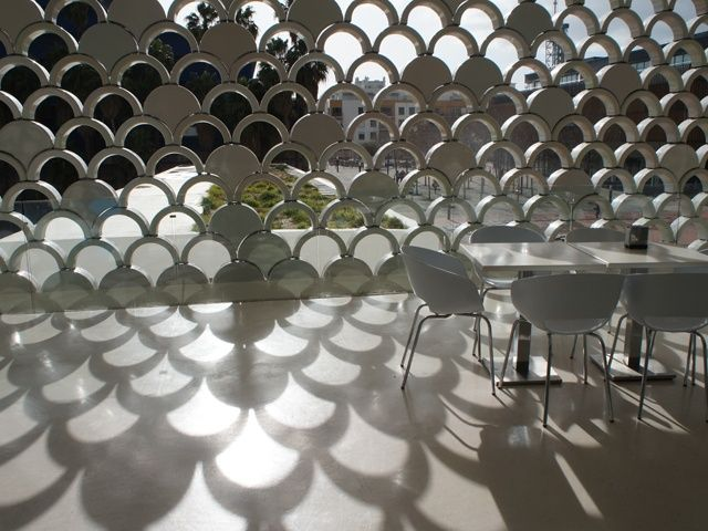 Fish Scale Patterns In The Café Amazing Ideas