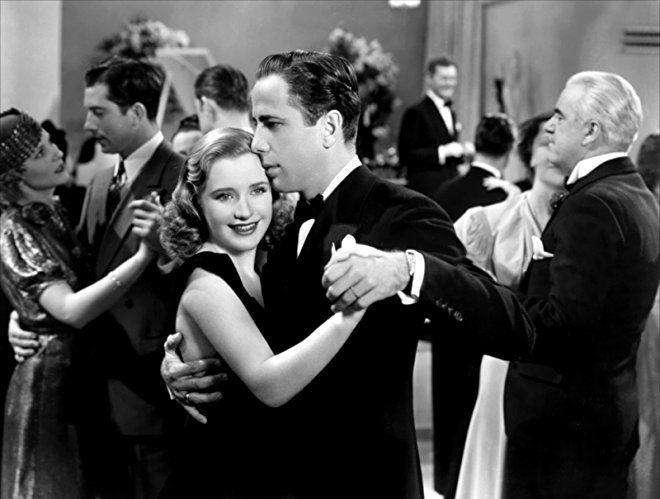 Humphrey Bogart, Donald Briggs, Priscilla Lane, and Penny Singleton in Men Are Such Fools (1938)