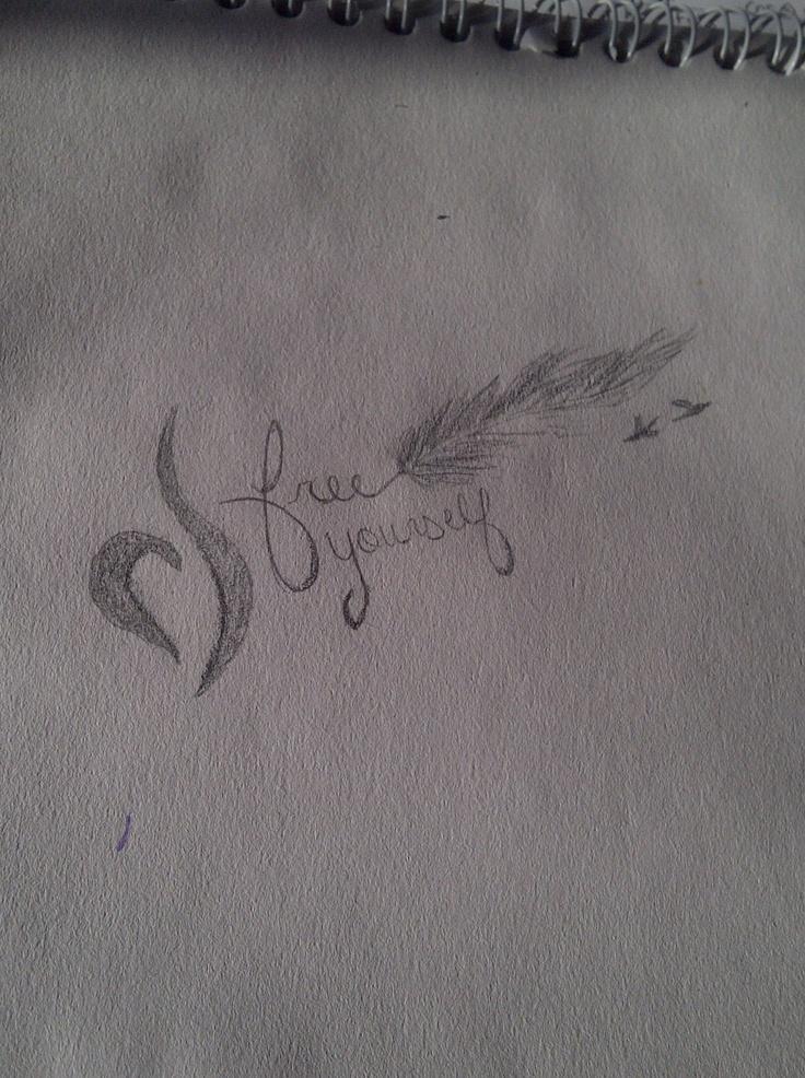 tattoo I drawed  #neda #recovery #ed