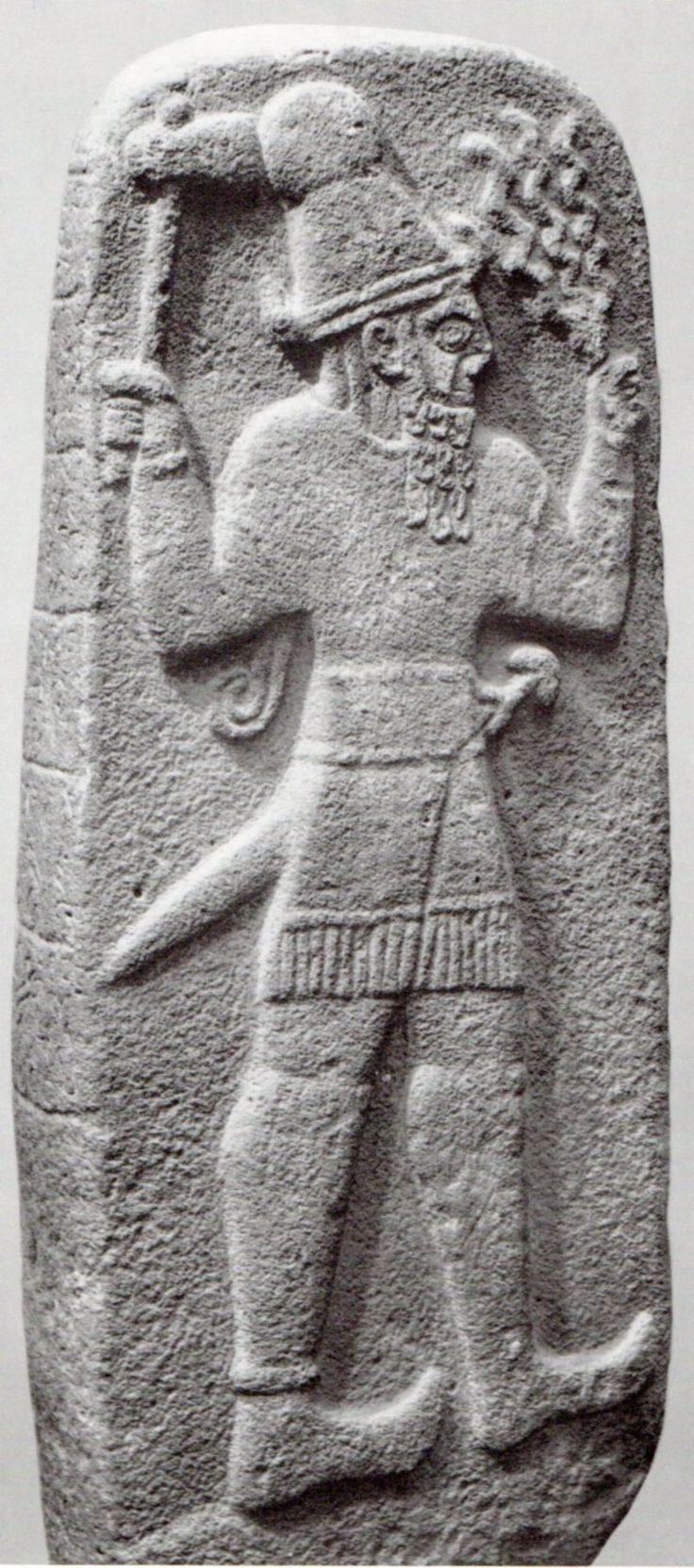 Dieu météo hittite, Babylone, Musée archéologique d'Istanbul (Kurt Bittel) (Erdinç Bakla)