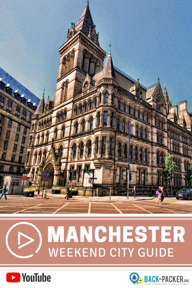 A complete weekend guide to exploring Manchester, England. Best things to do in the city from Castlefield to Town Hall to the Northern Quarter and Ancoats + top restaurants, cafes and bars and insider tips from a local. Travel in the United Kingdom. | Back-Packer.org #Manchester #England