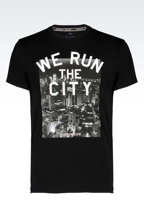 T-SHIRT RUN THE CITY B6H22DA