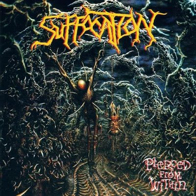 BEHIND THE VEIL WEBZINE: SUFFOCATION – Pierced From Within Review