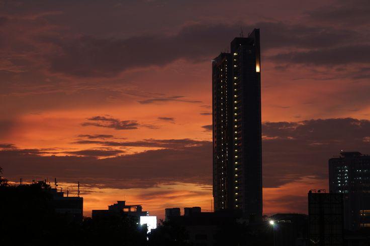 Sunset | city landscape