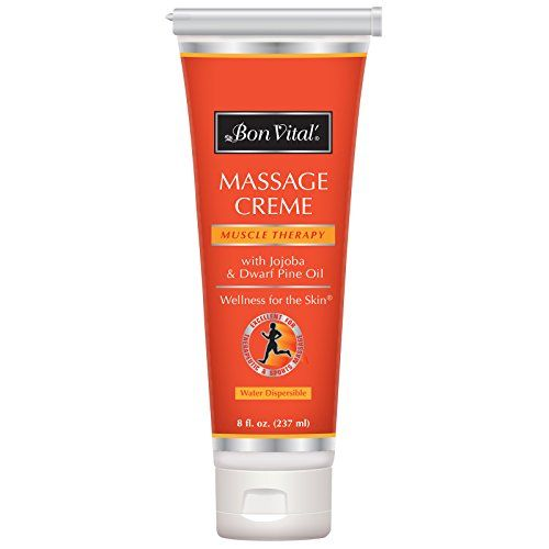 Bon Vital' Muscle Therapy Massage Crème, Professional Massage Cream with Dwarf Pine Oil & Essential Oils for Relaxation & Sore Muscle Relief, Deep Tissue & Sports Massage Techniques, 8 Ounce Tube. For product & price info go to:  https://beautyworld.today/products/bon-vital-muscle-therapy-massage-creme-professional-massage-cream-with-dwarf-pine-oil-essential-oils-for-relaxation-sore-muscle-relief-deep-tissue-sports-massage-techniques-8-ou/