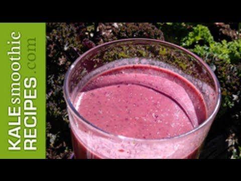 kale smoothie cherry strawberry kale smoothie recipes kale smoothies ...