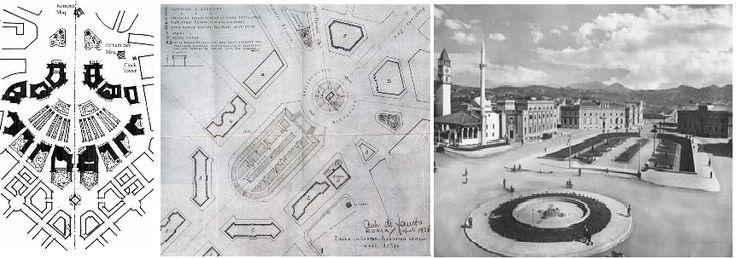 Original Italian planning design.