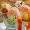 The best shrimp cocktail makers know these secrets: Keep the shrimp firm and full of flavor by adding a splash of lemon juice to the water when it's boiling and drain but never rinse the shrimp after boiling. Try it!
