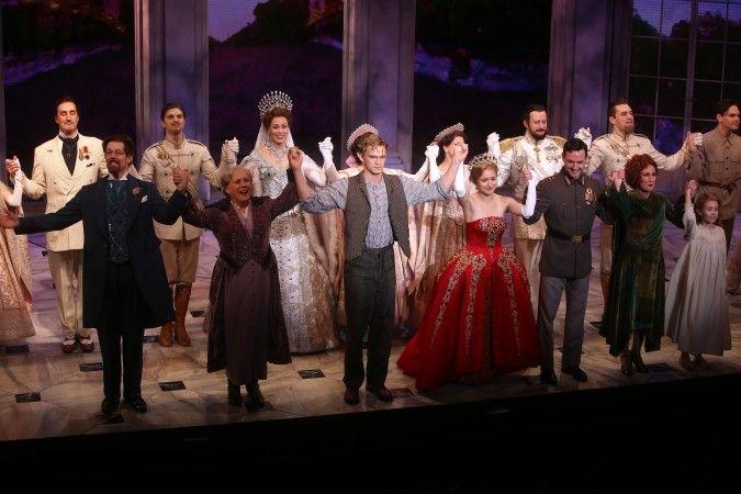 Anastasia Broadway Cody Simposon Curtain Call 2018 Hr Anastasia Broadway Anastasia Curtain Call