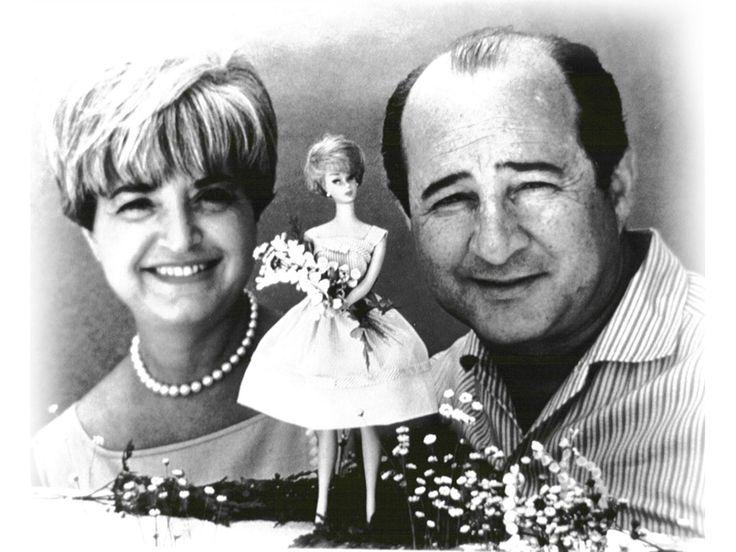 Ruth Handler e il marito Elliott.