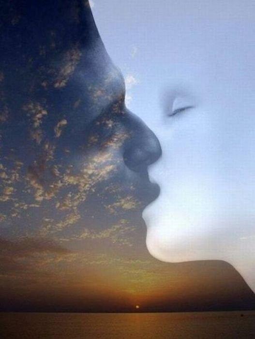 Love affair in the sky...