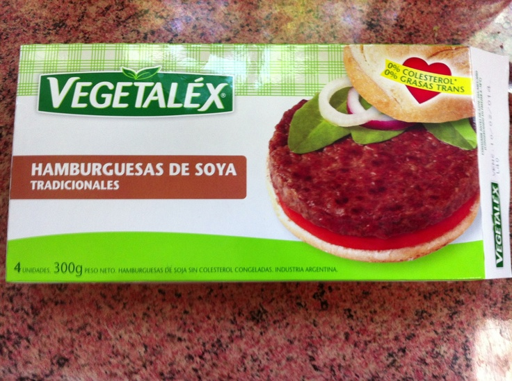 Hamburguesas veganas vegetalex, en venta en el Lider