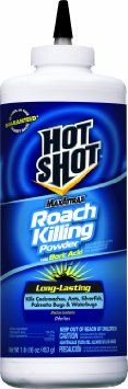 Hot Shot MaxAttrax Roach Killing Powder with Boric Acid.  I was told this product works great to get rid of ants, a problem I am fighting right now. Try.
