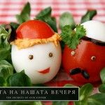 Tomato Guy & Egg Lady...Don't know what it's actually called because I can't read Bulgarian, but it's pretty darn cute...