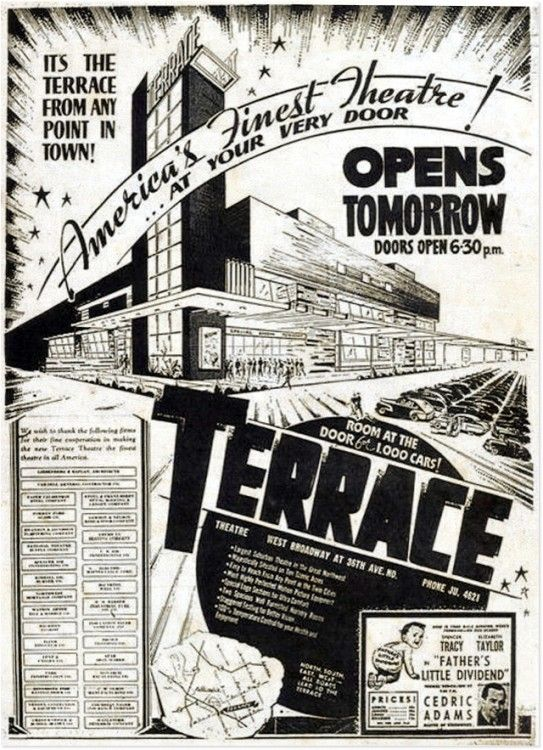 Terracead memories pinterest minnesota for Terrace theater movie times