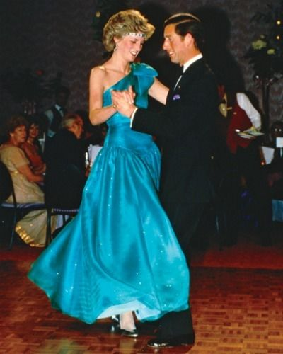 Princess Diana and Prince Charles dance at an event in Australia in the early 80s.